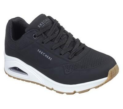 Skechers meisjesschoenen jongensschoenen vrije tijd black on air