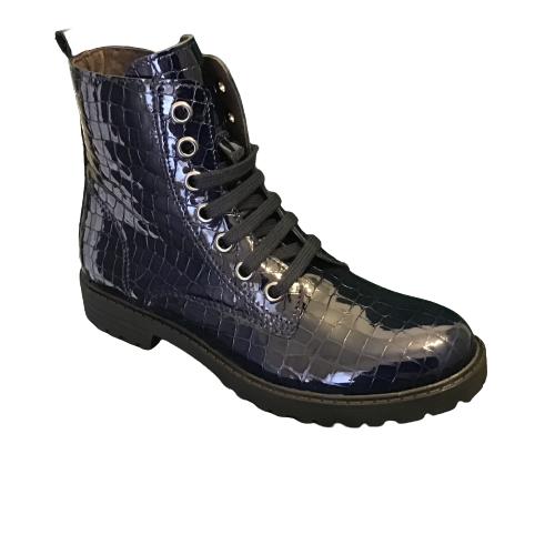 Clic laarzen kort blue