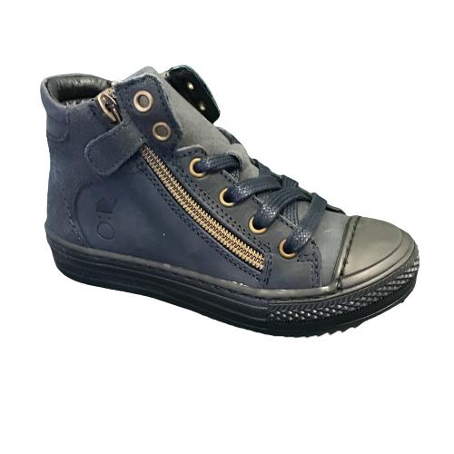 Nörvik jongensschoenen met bumper blue