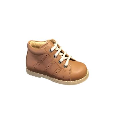 Lunella jongensschoenen meisjesschoenen cognac