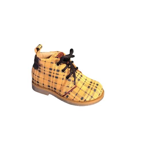 Romagnoli jongensschoenen velour giallo