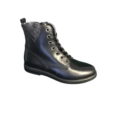 Stones and Bones meisjesschoenen laarzen kort Etami calf black