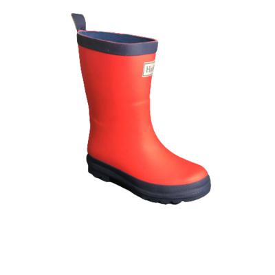 Hatley regenlaarzen red/navy