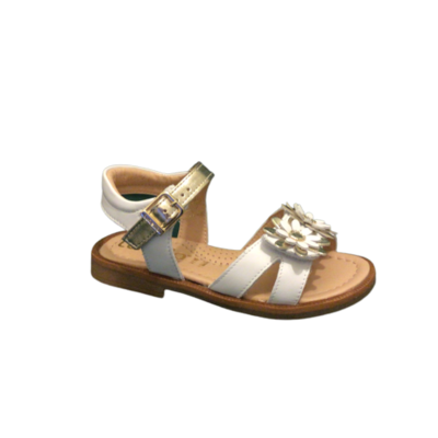 lunella sandalen meisjes bianco + platino