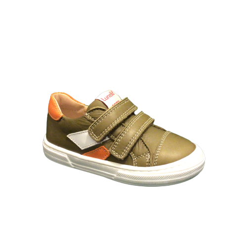 Lunella jongensschoenen zomer kaki
