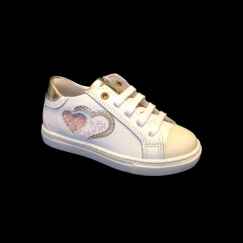 Bana&Co meisjesschoenen zomer bianco+platino