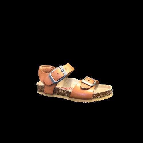 Lunella sandalen jongens meisjes cognac