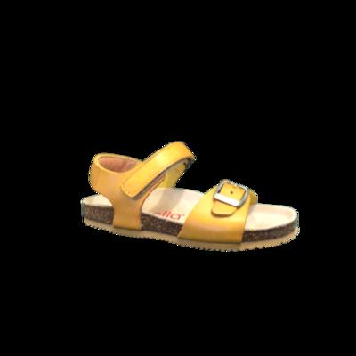 Lunella sandalen jongens meisjes ocra