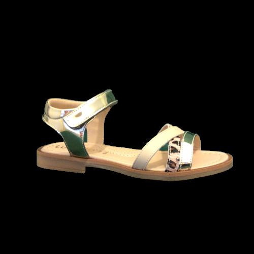 lunella sandalen meisjes platino