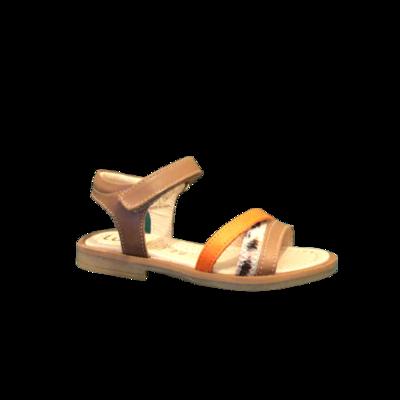 lunella sandalen meisjes cognac