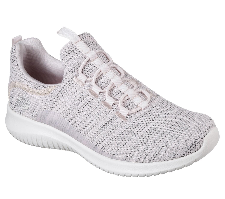 Skechers meisjesschoenen vrije tijd pink-grey