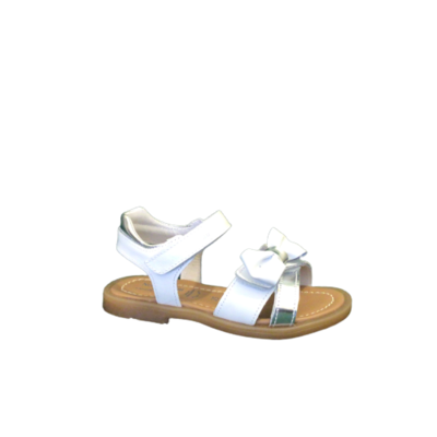 NeroGiardini sandalen meisjes bianco argento