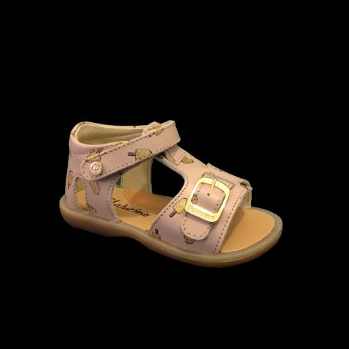 Naturino sandalen meisjes cream cipria