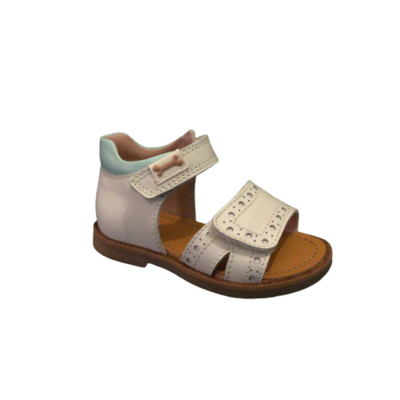 Stones and Bones sandalen meisjes baly vit ivor