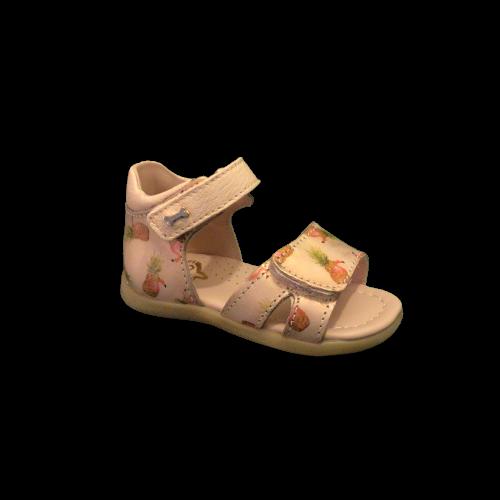 Stones and Bones sandalen meisjes Moka metal calf salmon