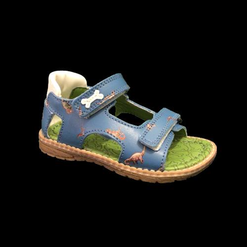 Stones and Bones sandalen jongens Dent calf l.blue+ivor