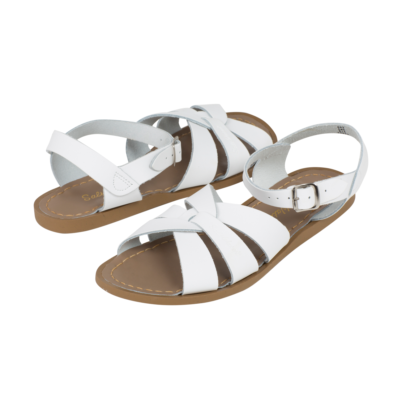 Salt Water sandalen meisjes original white