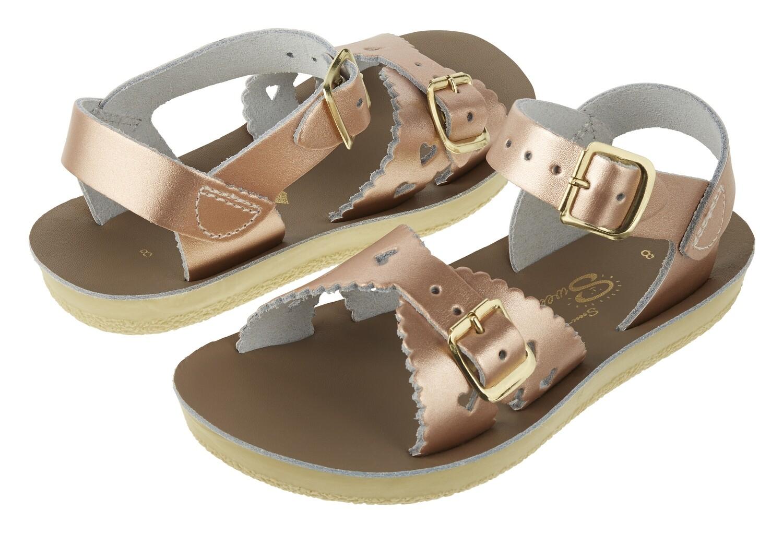 Salt Water sandalen meisjes sweetheart rose gold
