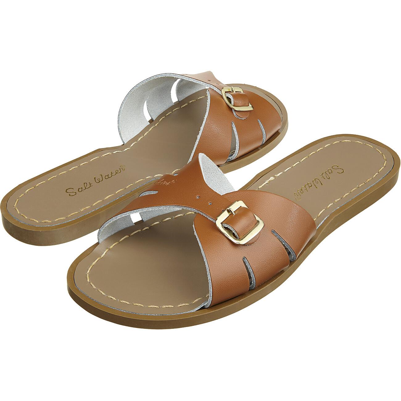 Salt-water sandalen meisjes slides cognac