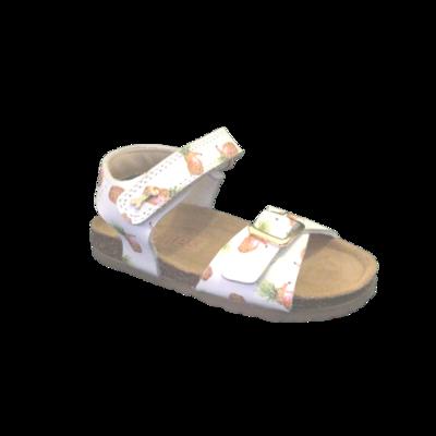 Stones and Bones sandalen meisjes Crast vit ananas white