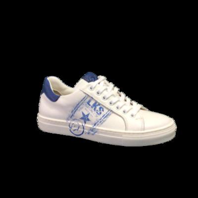 Luca jongensschoenen bianco+blu