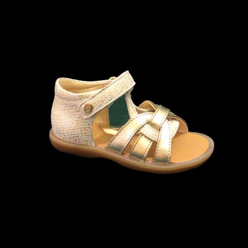 Naturino sandalen meisjes metallic platinum