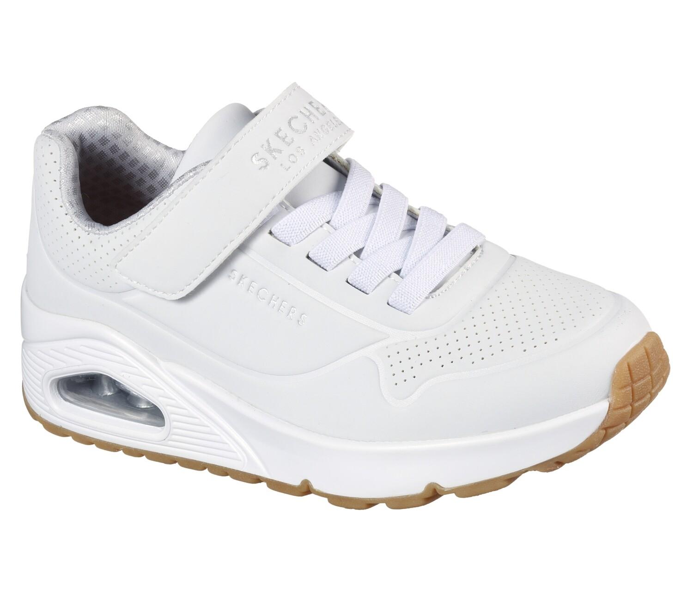 Skechers jongensschoenen meisjesschoenen vrije tijd white