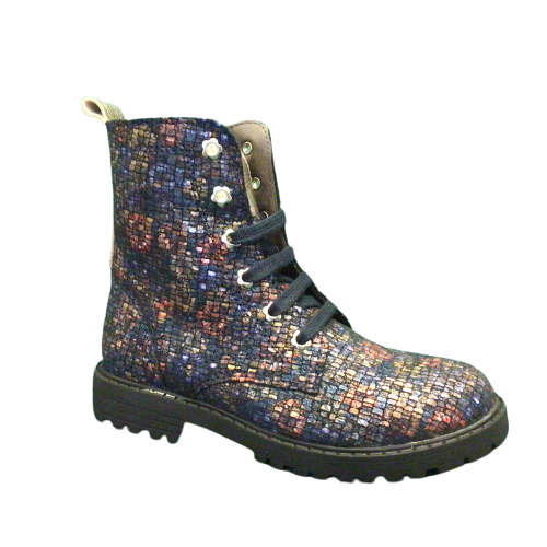 Clic laarzen kort Azul stone