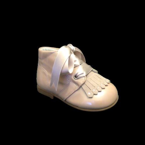 Landos meisjesschoenen metal petalo