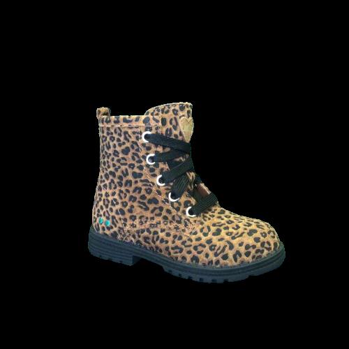 Bunnies laarzen kort leopard