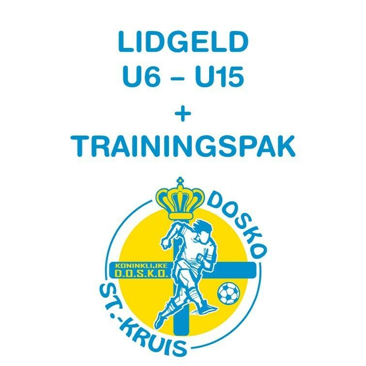 Lidgeld U6 - U15 + inbegrepen trainingspak