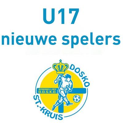 Lidgeld U17 Nieuwe spelers + inbegrepen trainingspak, kousen en short