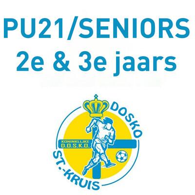 Lidgeld PU21 2e & 3e jaars + Seniors