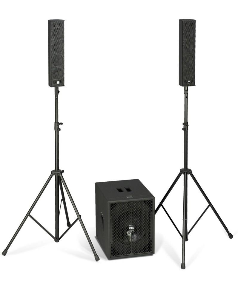 ERJK K3 Stereo Loudspeakers system with 3 modules