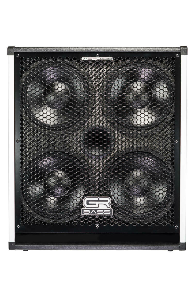 """GR Bass AT410+, carbon cabinet 4x10"""" 1'200w, 4 ohm"""