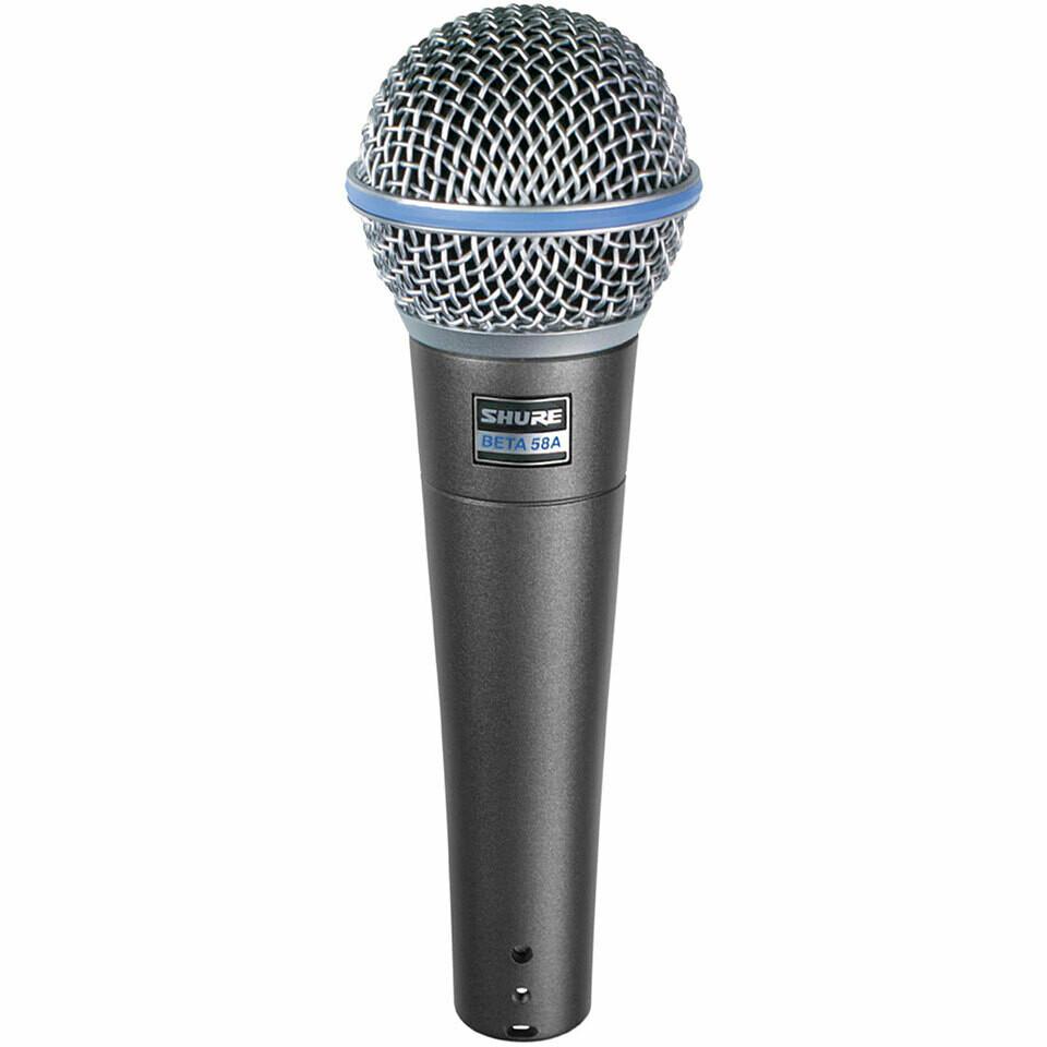 Shure Beta 58A · Mikrofon