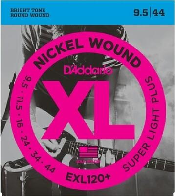 D'Addario EXL120+ Super Light Plus 009.5-044
