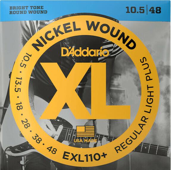 D'Addario EXL110+ Regular Light Plus 010-048