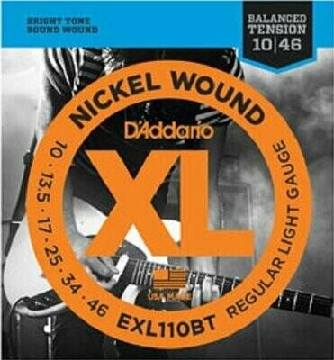 D'Addario EXL110BT Balanced Tension Regular Light / 010-046