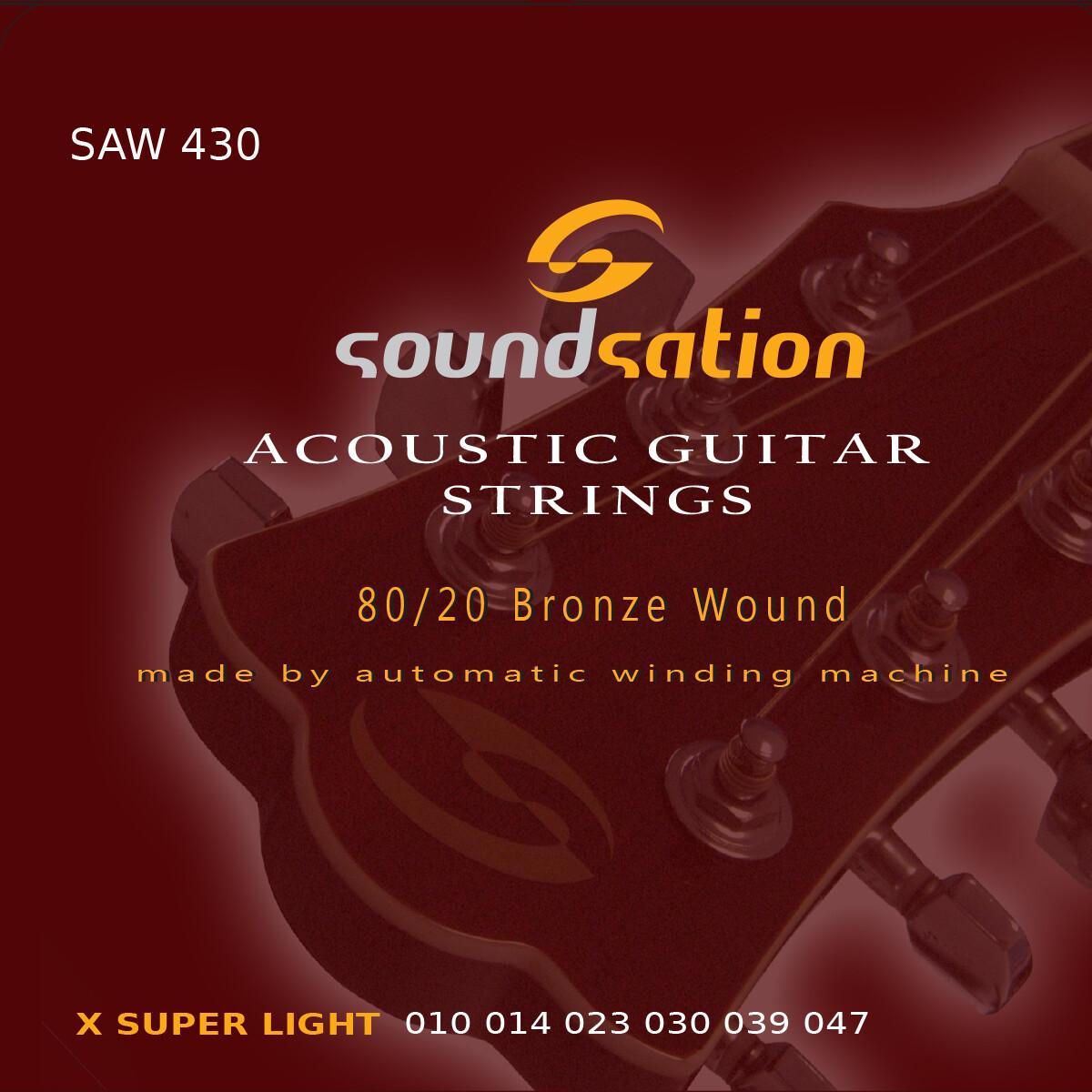 Acoustic Guitar String  X super light SAW430