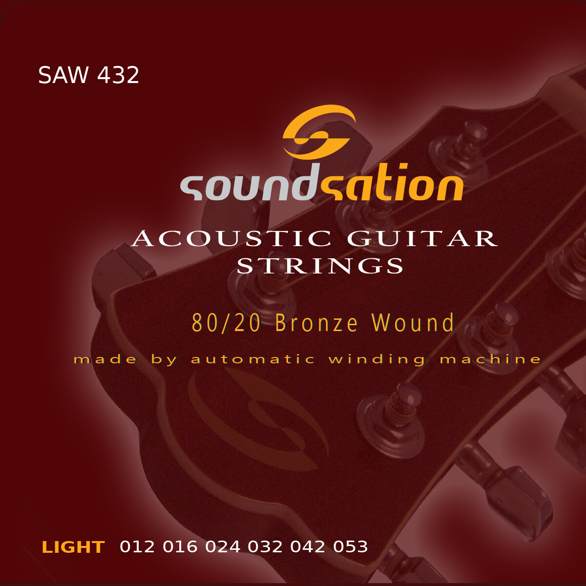 Acoustic Guitar String  light SAW432