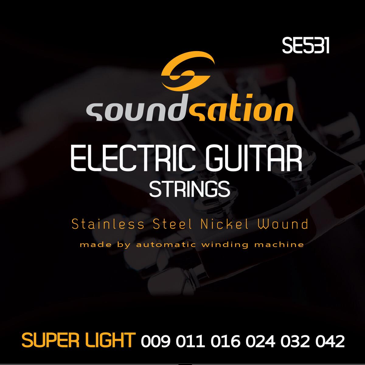 Electric Guitar String super light SE 531