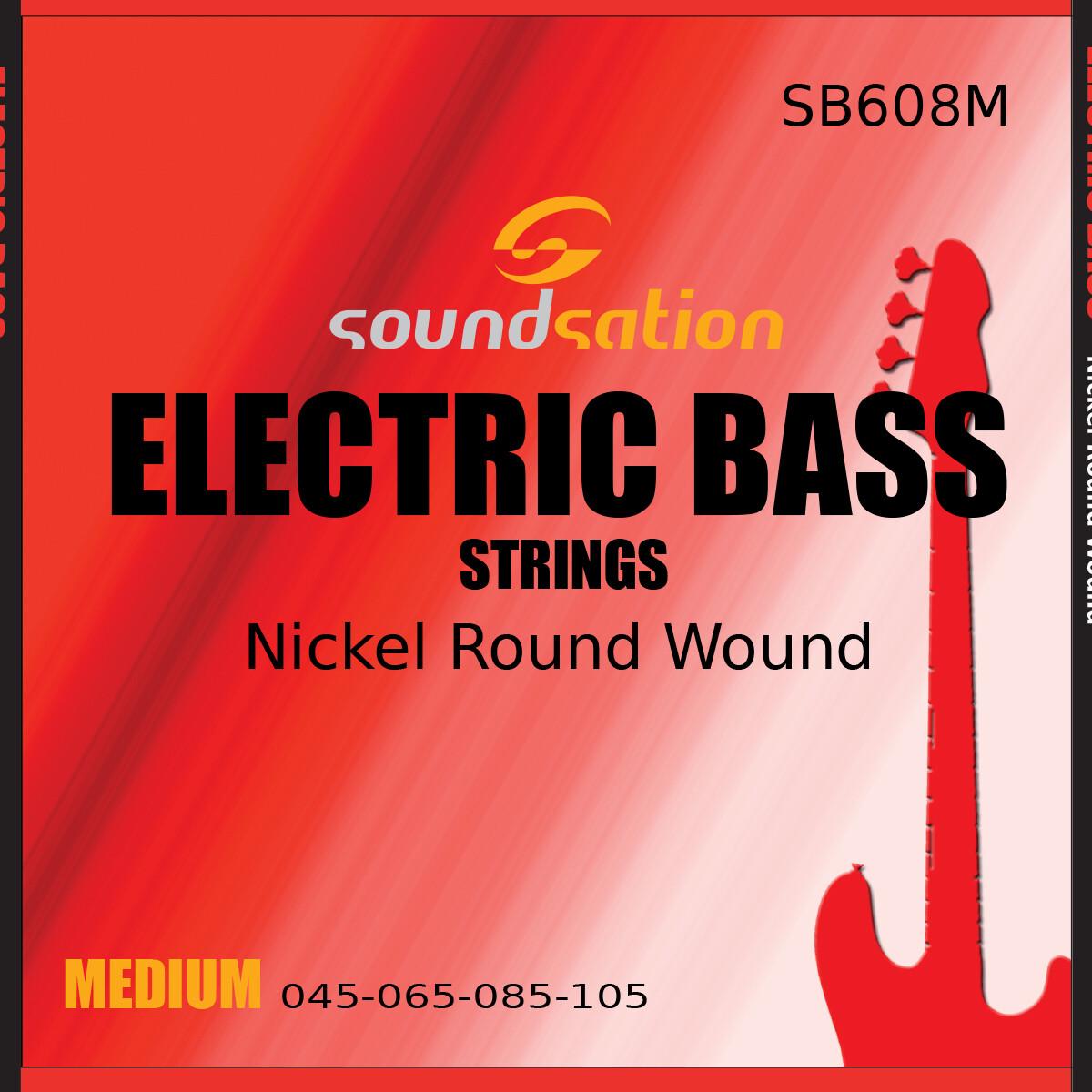 Electric Bass String Medium SB608M