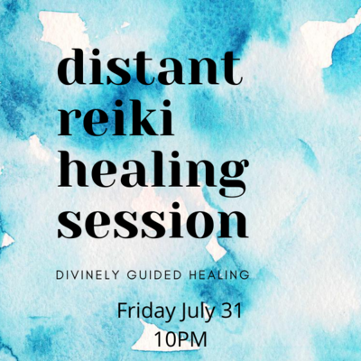 Distant Reiki Healing Session