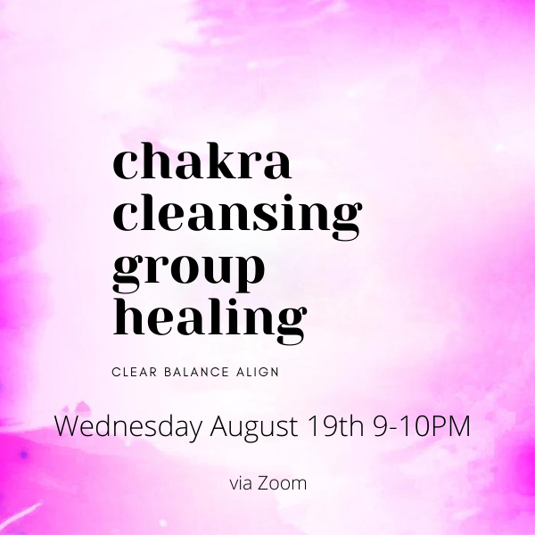 Chakra Cleansing Group Healing
