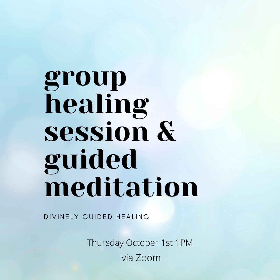 Group Healing Session & Guided Meditation