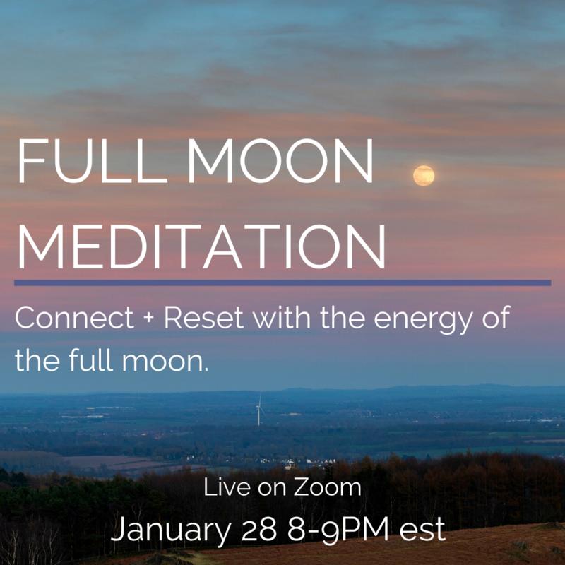 Full Moon Reset Meditation + Healing
