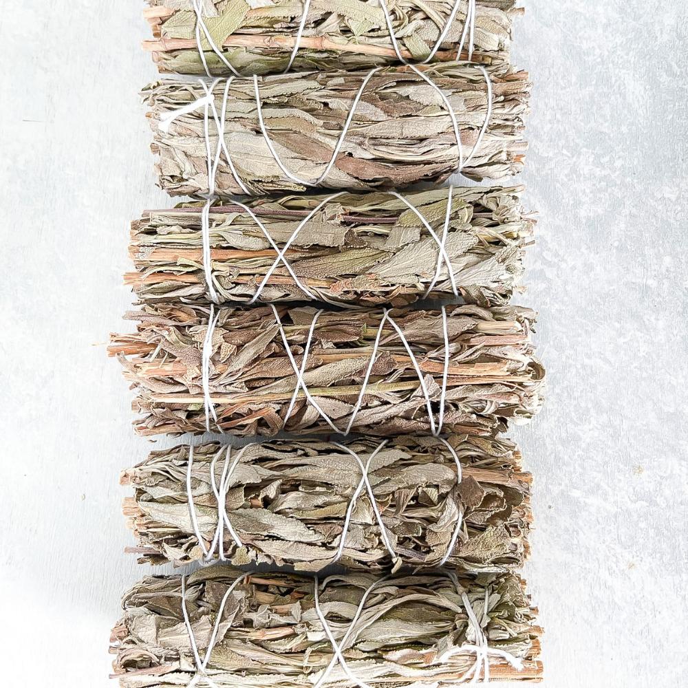 Black Sage Mugwort Smudge Sticks