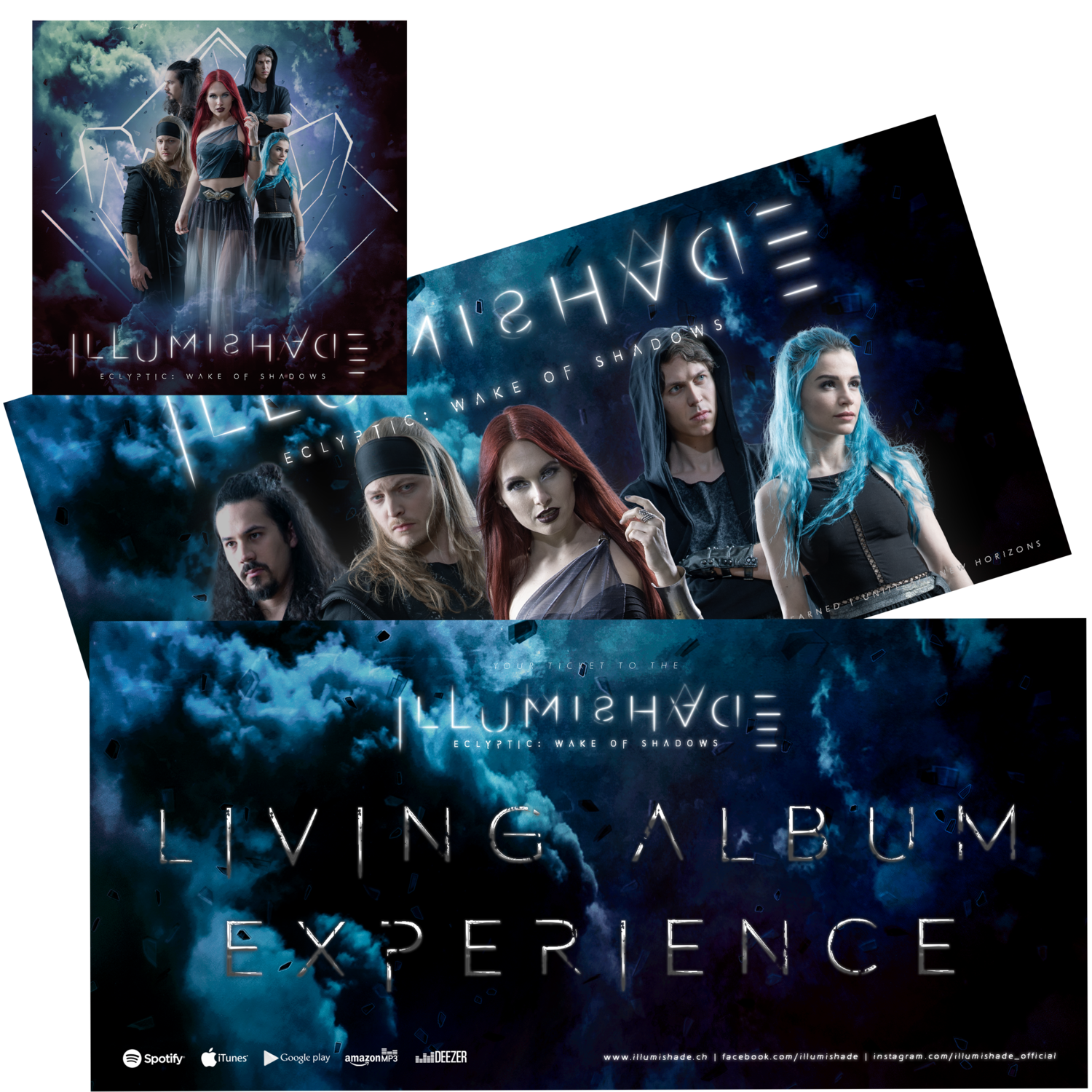 Living Album Experience - Signed Ticket & Album [LIMITED EDITION with Band Signatures]