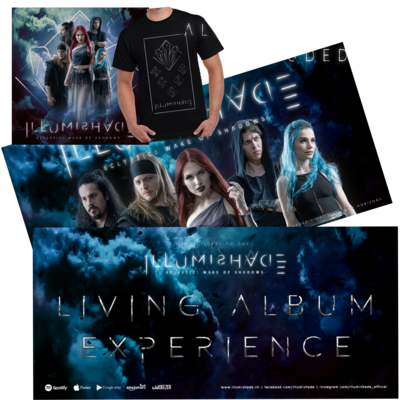 Living Album Experience - ILLUMI Shirt with Signed Ticket & Album [LIMITED EDITION with Band Signatures]
